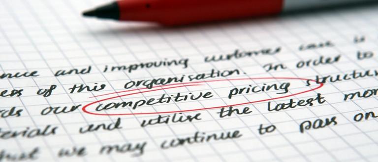 freelance service pricing