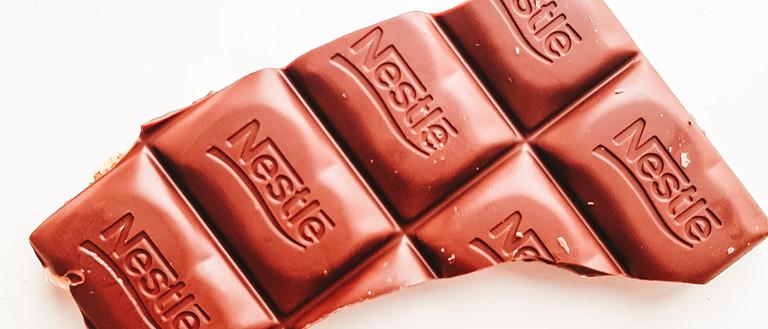 branding: nestle chocolate