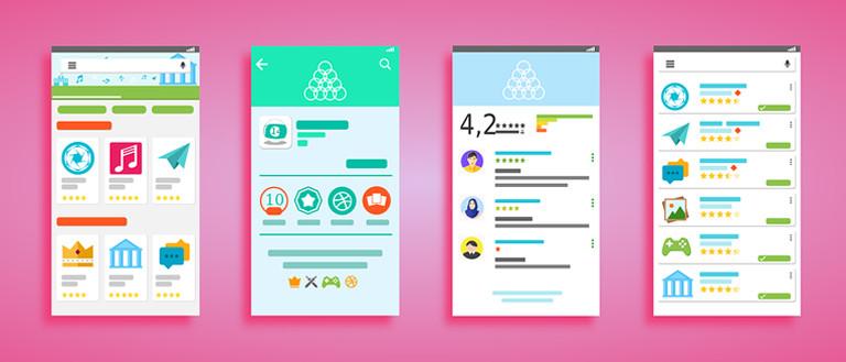 ui designer skills: multiple interface design windows