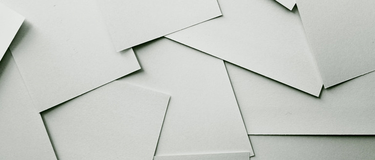 paper sheets laying around