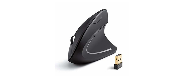 Anker 2.4g Wireless Vertical Ergonomic Optical Mouse