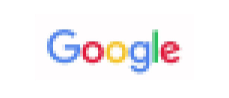why is my logo pixelated: feature image of pixelated google logo