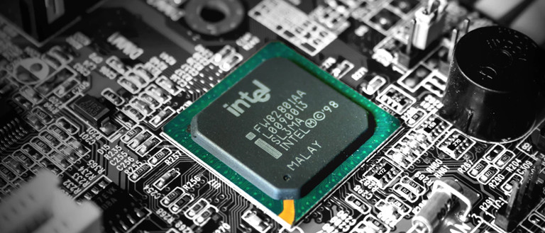 computer motherboard with intel processor