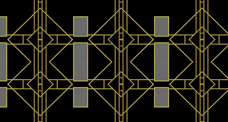 art deco design pattern