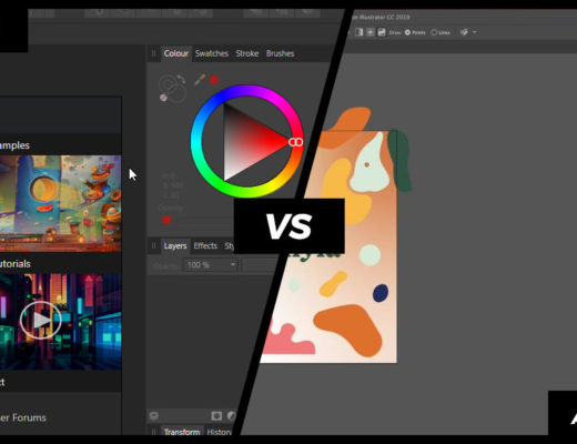 Affinity Designer vs Adobe Illustrator featured image