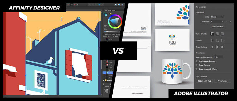 Affinity Designer vs  Adobe Illustrator: Which One Is The