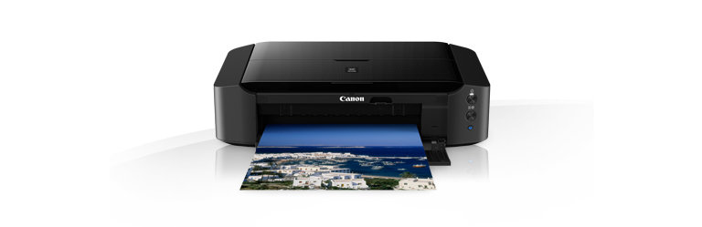 Canon PIXMA iP8750 on a white background