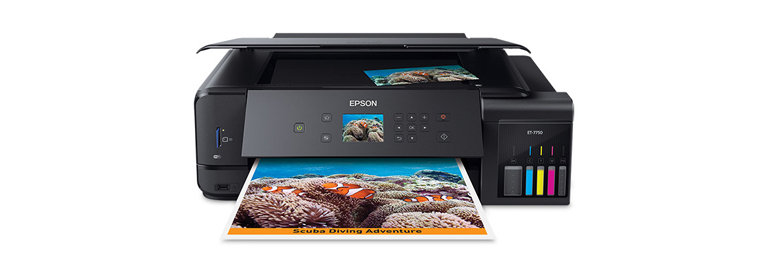 Epson EcoTank ET – 7750 on a white background