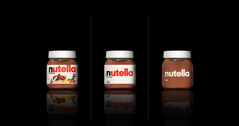 Minimalist effect in the maximalist market - Nutella by Antrepo