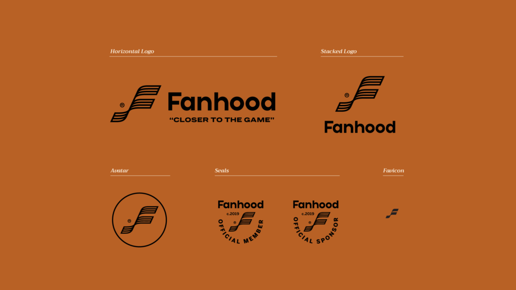 Fanhood Visual Identity by Amy Hood