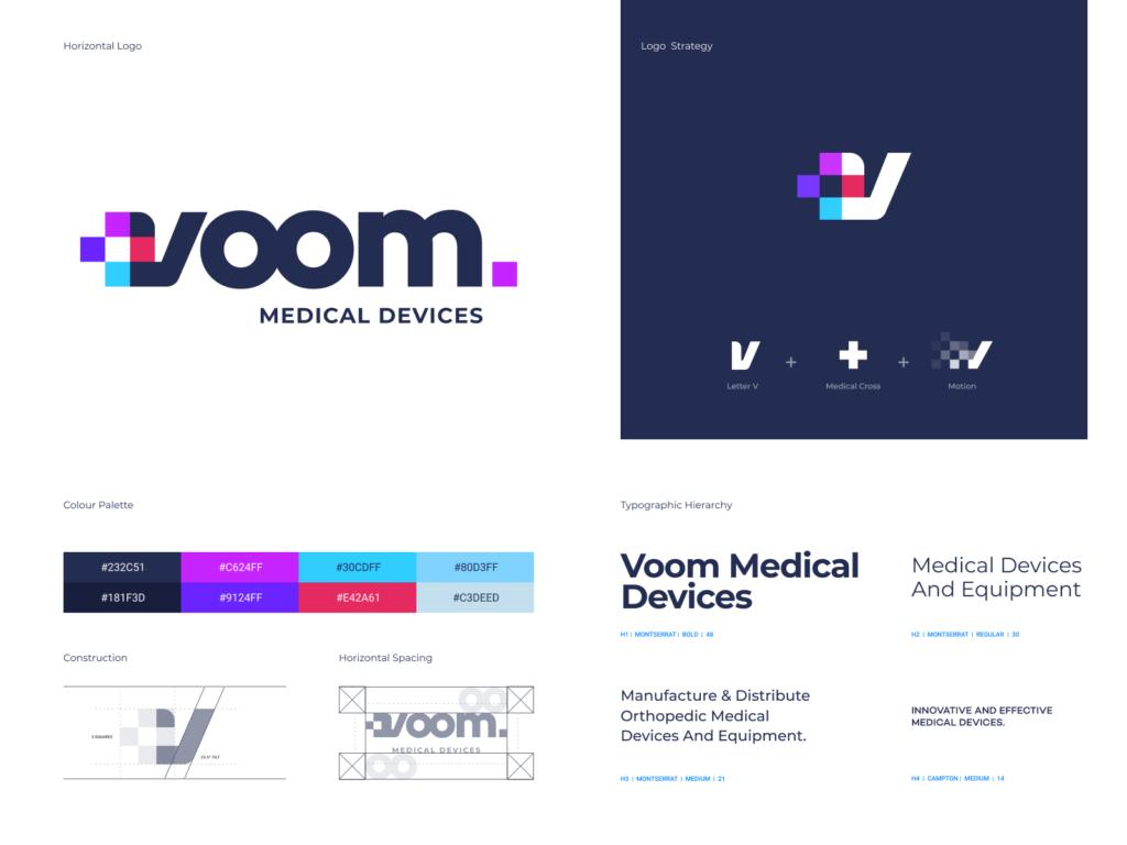 voom branding by Eddie Lobanovskiy