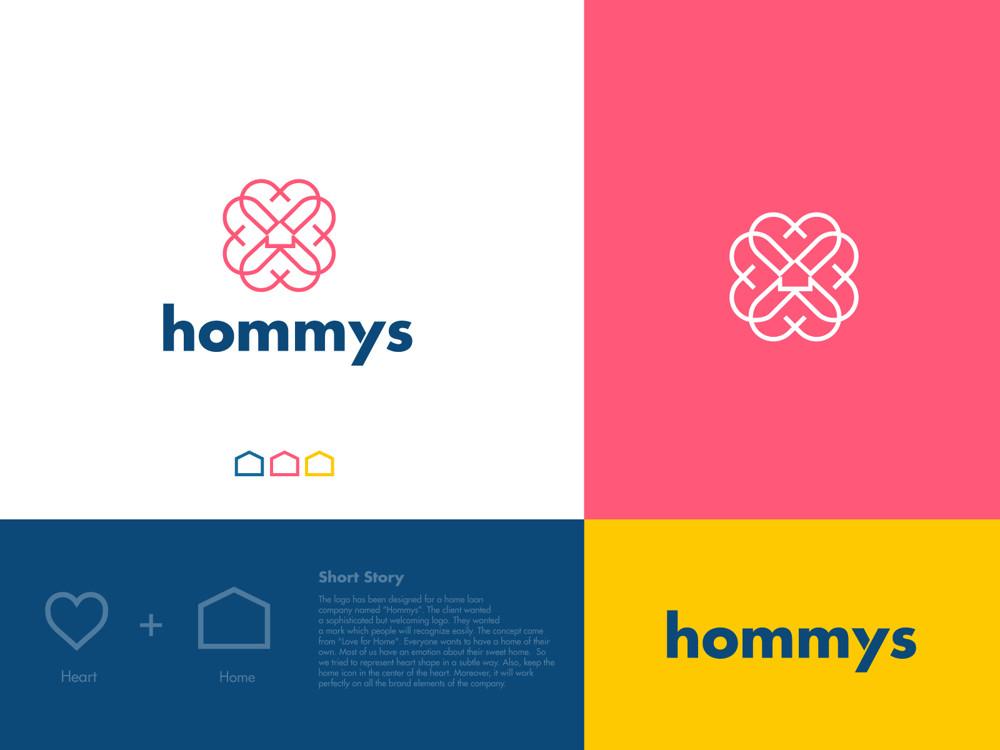 Hommys by Jahid Hasan, Logo | Branding
