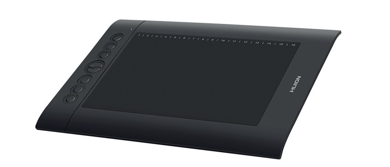 Huion H610 v2 side view