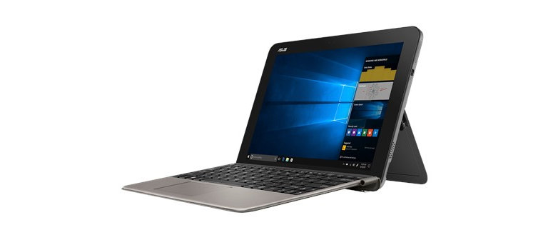 asus transformer mini on white background
