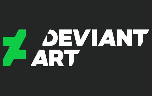 sites like deviantart feauterd image of a logo
