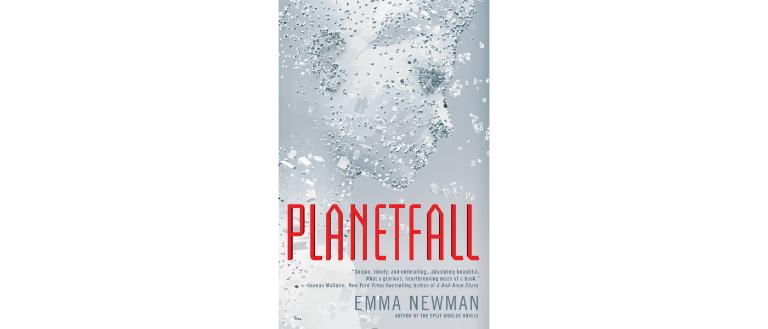 Planetfall by Emma Newman sci-fi book cover design