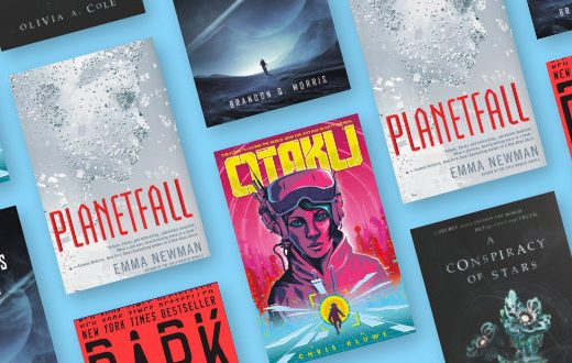 sci-fi book covers featured image