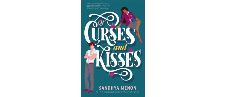 Of Curses and Kisses romance book cover