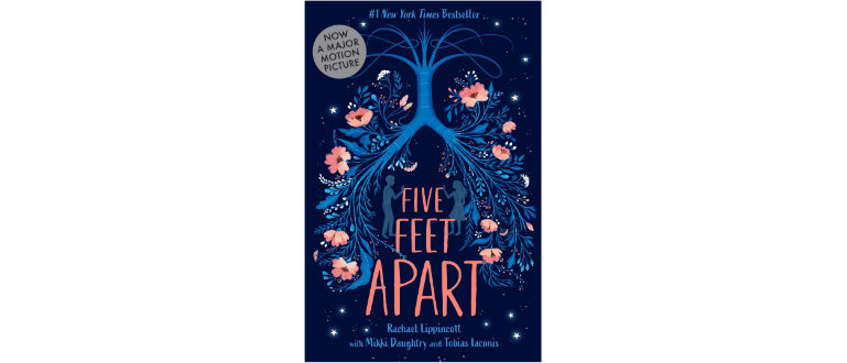 five feet apart front book cover design