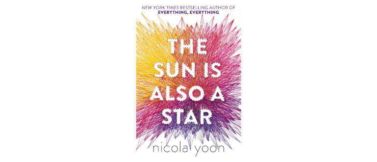 The sun is also a star design cover