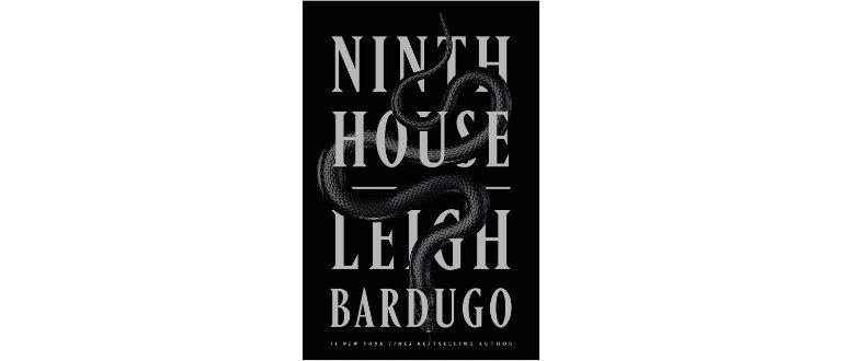 Ninth House by Leigh Bardugo mystical book cover