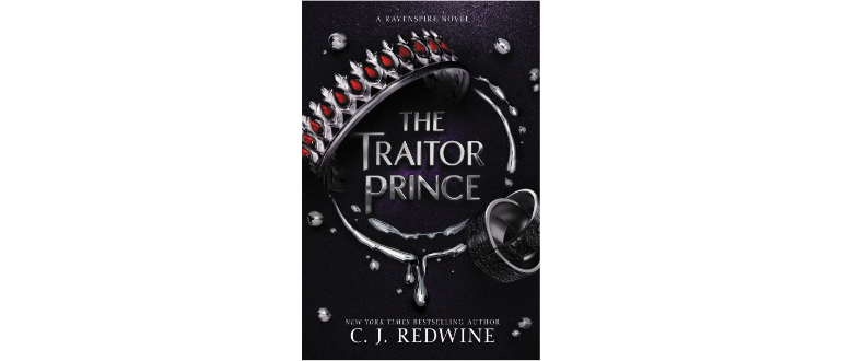 The Traitor Prince by C.J. Redwine book design